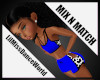 Mix N Match Blu Cow Top
