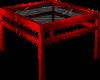 (AL)Black Rose End Table