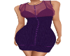 Shangra Purple Dress
