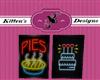 Pie Cake Sign
