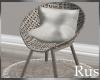 Rus Leaf Wicker Chair