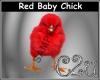 C2u Red Chick Sticker