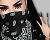black bandanna
