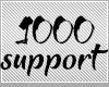 1000c support sticker