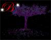 Purple sparkle tree