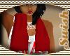 RED TOWEL NECK WRAP (W)