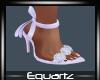 Lilac Bow Heels