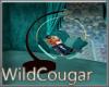 Teal Dreams Cuddle Swing