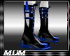 (M)~Blade Boots Blk/Blu
