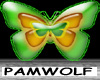 Greenglow Butterfly