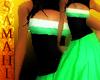 {S} Bee Dress Green