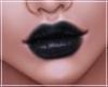 -S- Black Glossy Lips