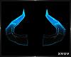 [Xu] Blu Crystal Horns