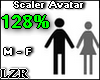 Scaler Avatar M - F 128%