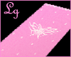 Lg Pink butterfly towel
