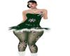 {ER} Green Xmas Baby