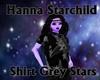 Shirt Grey Stars