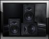 Stereo Speakers Black