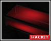 H@K Dark Glow Red Table