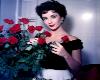 Liz n Roses Poster