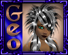 Geoo Scene Silver Black