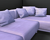White Faux Fur Couch