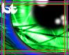 ^BT^ Neon Flow Green