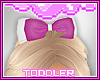 Toddler. Glitter Bow