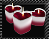 ! heart candels 2