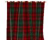 Plaid Christmas Curtain