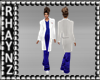 Doctors Coat/Blue Scrubs