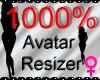 *M* Avatar Scaler 1000%