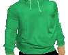 GREEDYS GREEN SWEAT TOP