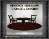 SH Table & Chairs