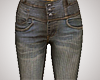 Grungey Pinstripe Jeans
