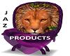 Purple Lion Throne