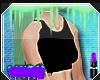 한 V|Black Sexy Top