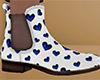 Heart Chelsea Boots 4 M