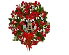 Mickey Mouse Xmas Wreath