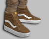 BROWN SK8 SHOES
