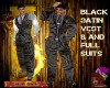 DM:BLACK SATIN FULLSUIT