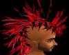 red&black animated hawk