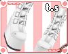 *ts* Goth Boots [Wht]