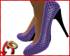 Pump Fishnet / Lilac