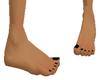 Sm Feet Black Toenails