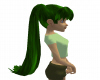 Green Pony Tail