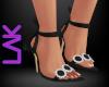 Tatiana heels black
