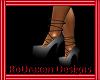 {Ro} Grey tied heels