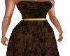 GC-Glitter Cocoa Gown