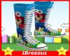 Mario Hi-Tops